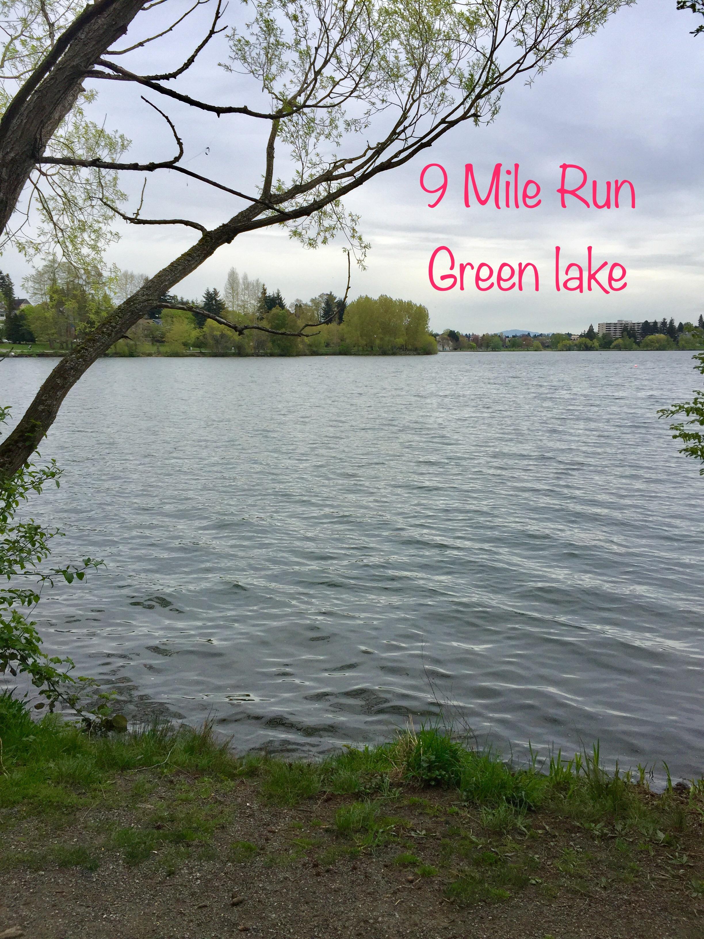 green lake run
