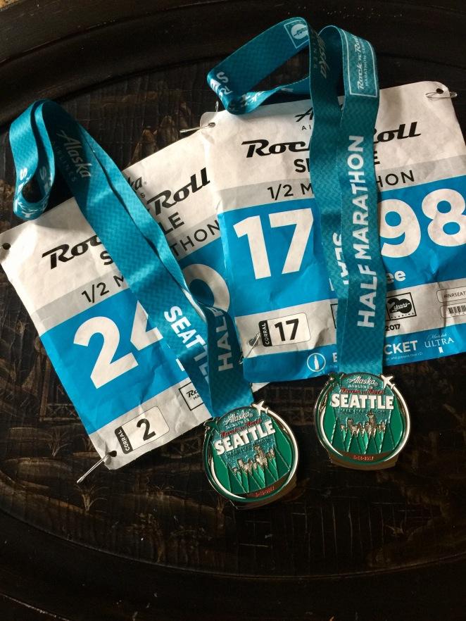half medals