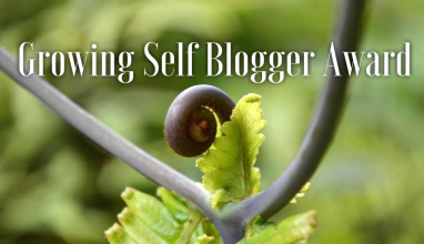 growning self blogger award