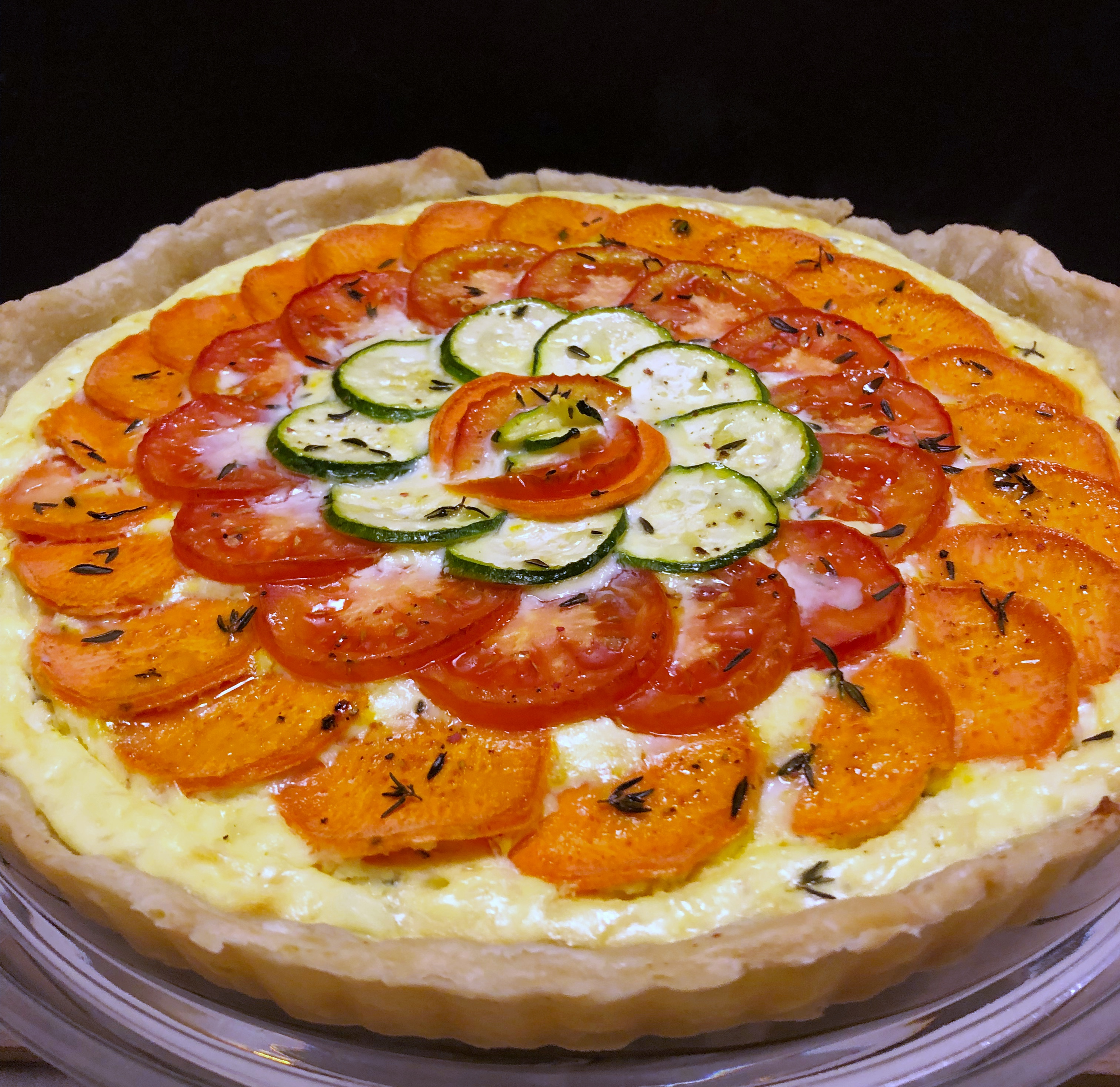 Sally's Baking Addiction: November, 2018 Challenge: Savory Vegetable Cheese Tart🍠🍅🧀